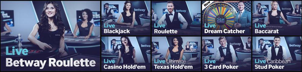 Live Casino Spiele