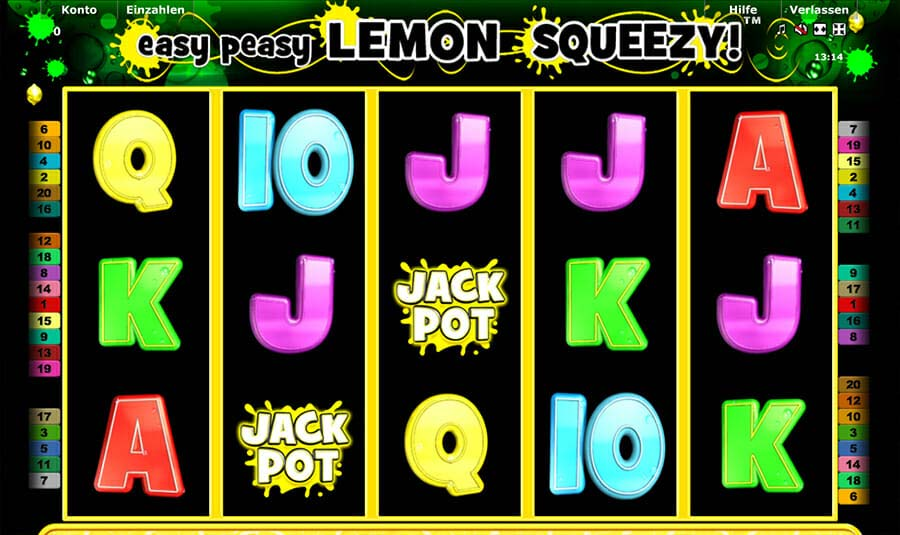 Novoline Easy Peasy Lemon Squeezy Spielautomat