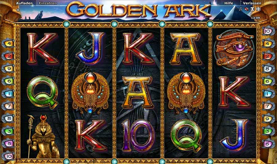 Novoline Golden Ark Spielautomat