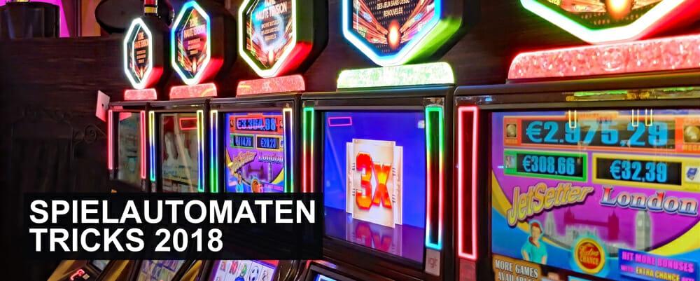 Spielautomaten Trick 2018 Banner