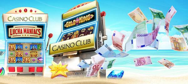 Casino Club 100 Freispiele Aktion