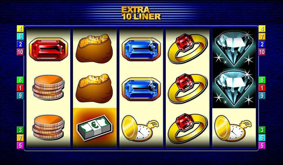 Merkur Extra 10 Liner Spielautomat