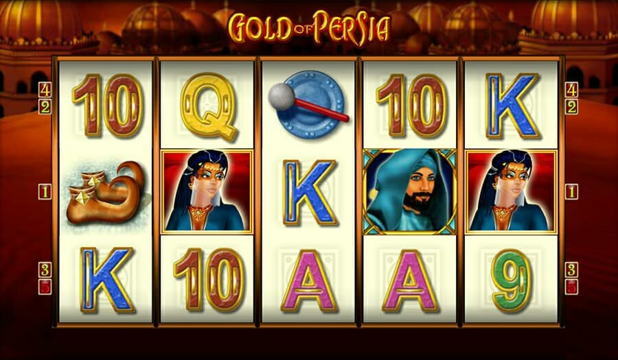 Merkur Gold Of Persia Online Slot