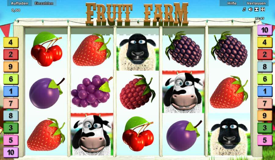Novoline Fruit Farm Automatenspiel