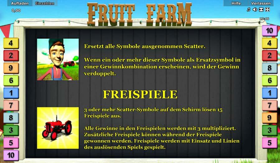 Novoline Fruit Farm Freispiele