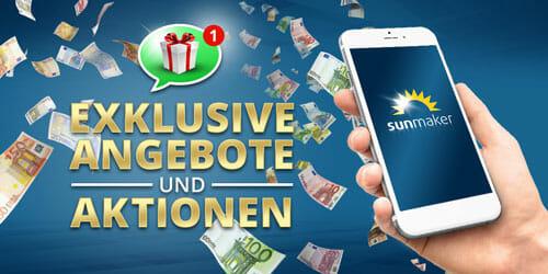Sunmaker Casino Mobile Bonus