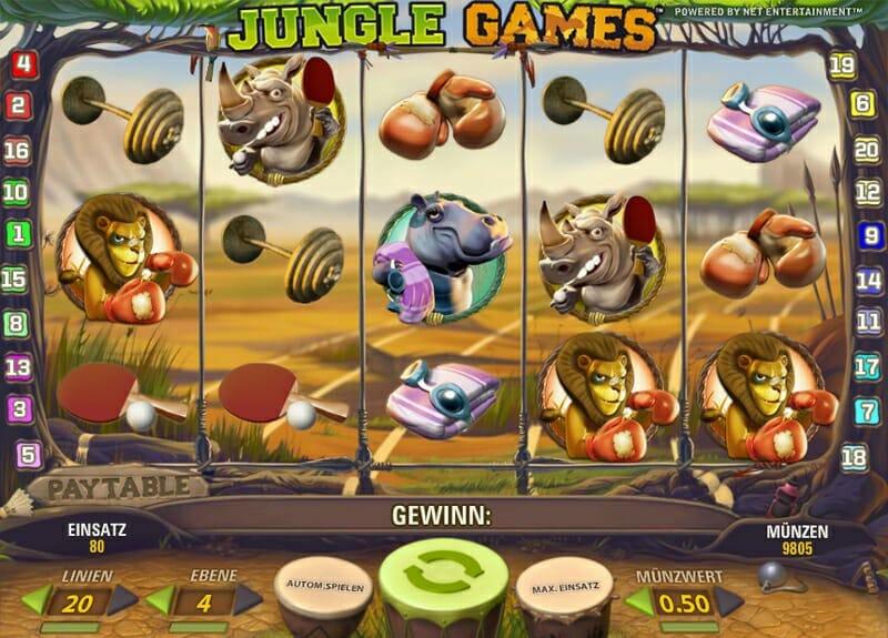 Jungle Games Spielautomat