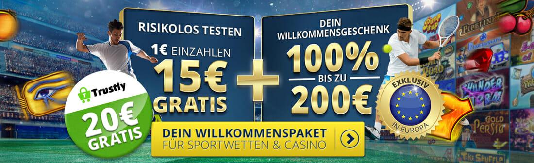 Sunmaker Casino Banner