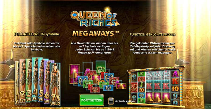 Queen Of Riches Besonderheiten
