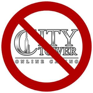 Warnung City Tower Casino
