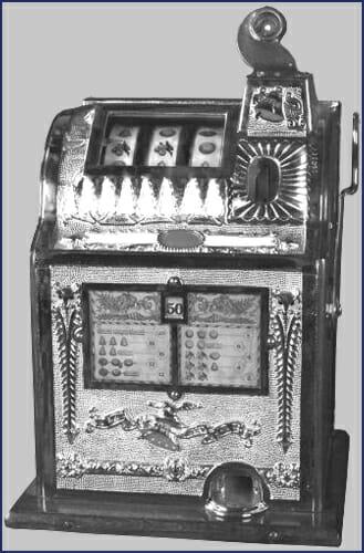 Erster Spielautomat