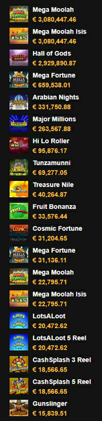 Jackpots Videoslots Casino