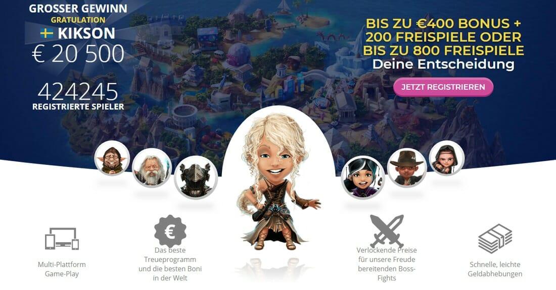 Casino Heroes Vorschau