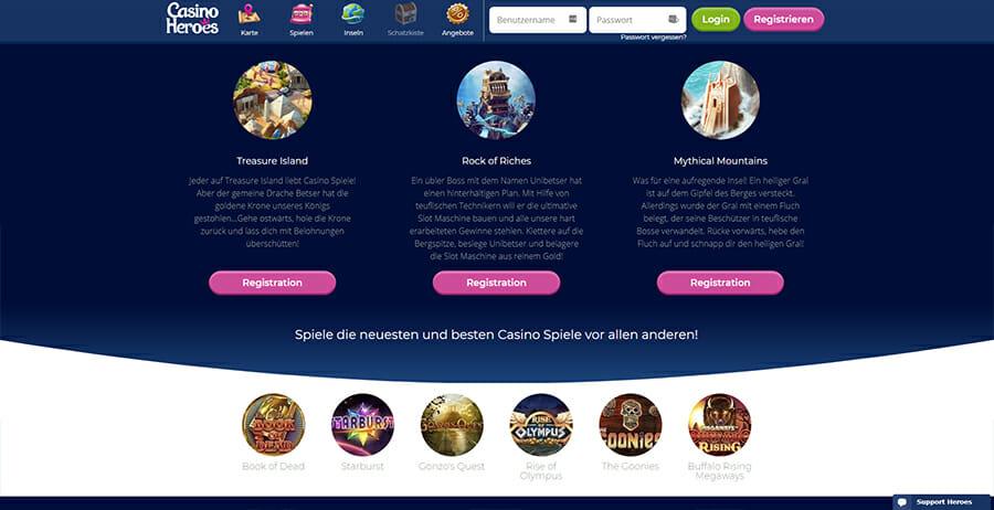 Casinoheroes Bonus