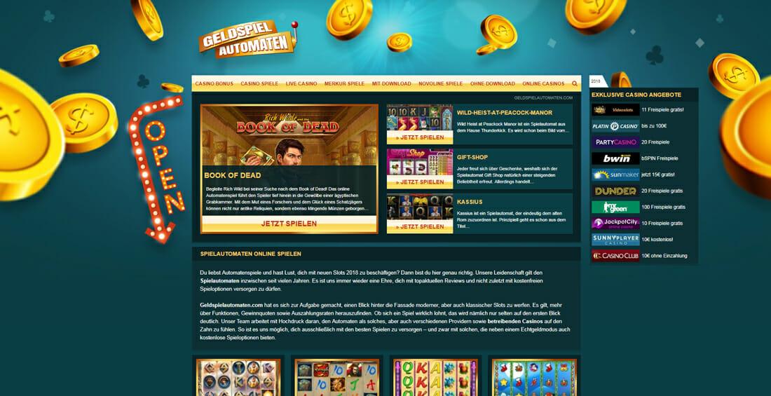 Geldspielautomaten Vorschau