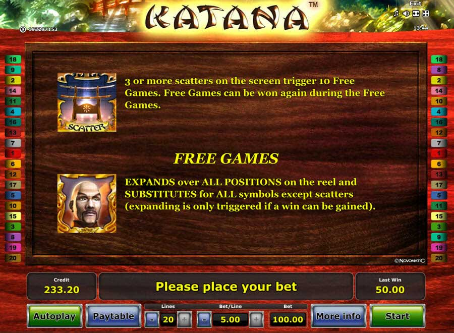 Katana Bonus