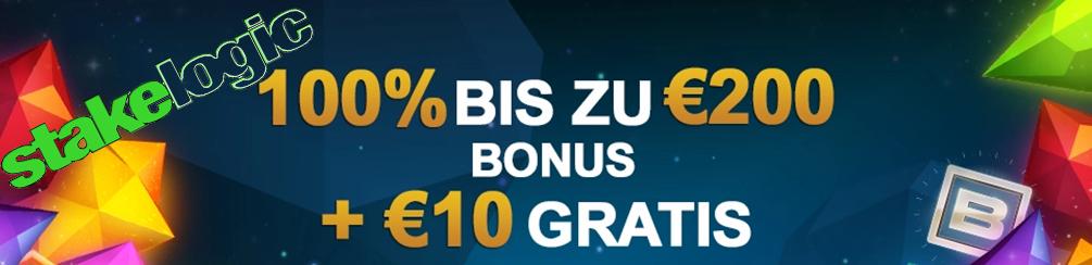 Stakelogic Videoslots Bonus
