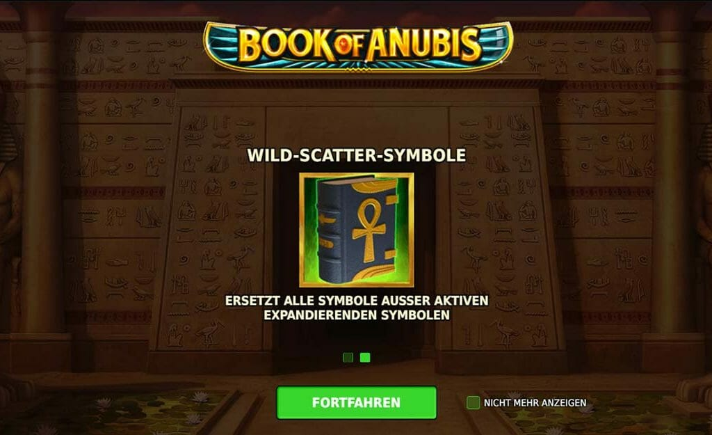 Book Of Anubis Scatter