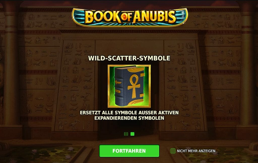Book Of Anubis Wild-Scatter