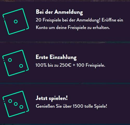 Dunder Bonus Infos