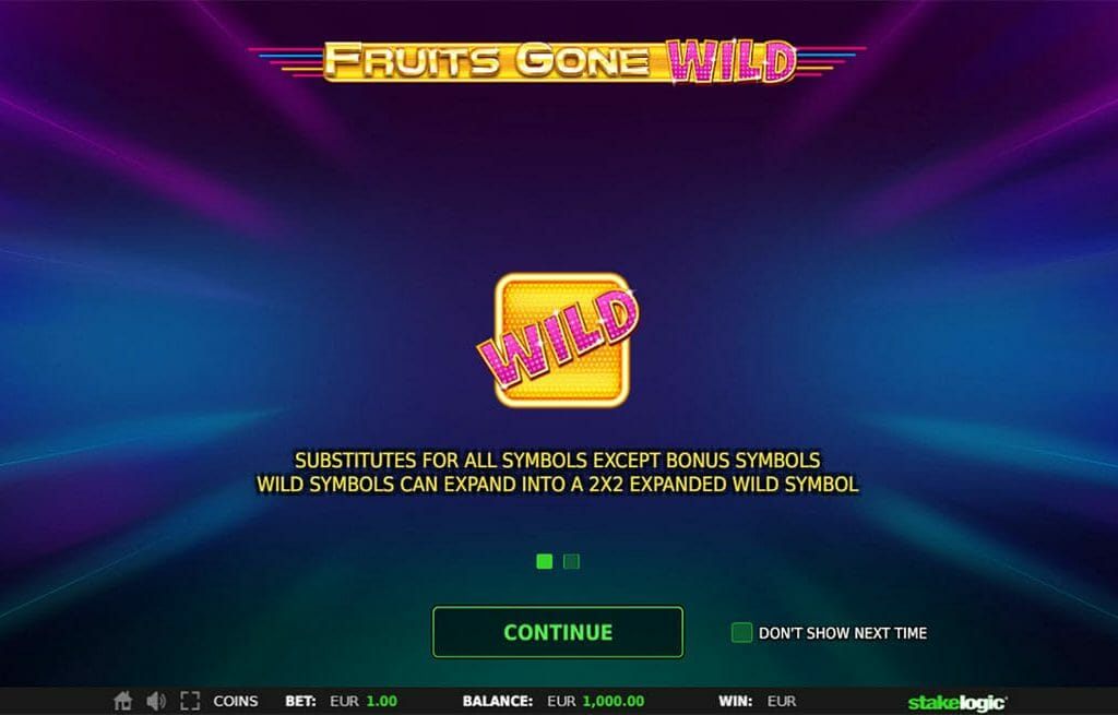 Fruits Gone Wild Wild Bonus