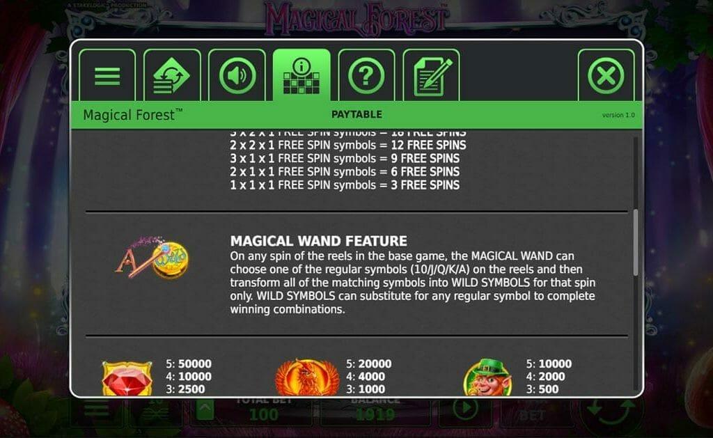 Magical Forest Bonus