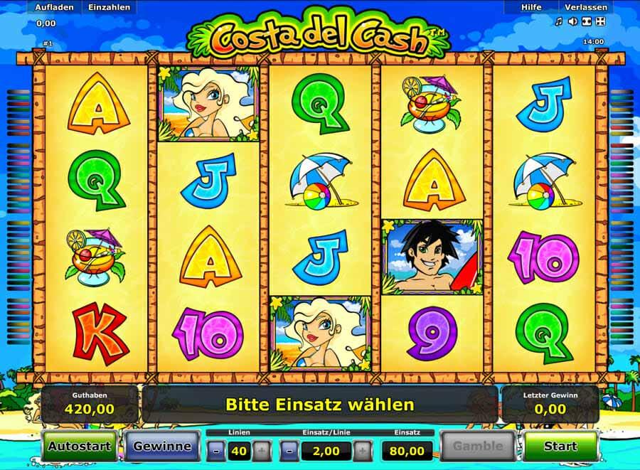 Novoline Costa Del Cash Spielautomat