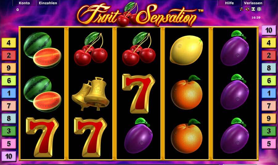 Novoline Fruit Sensation Spielautomat