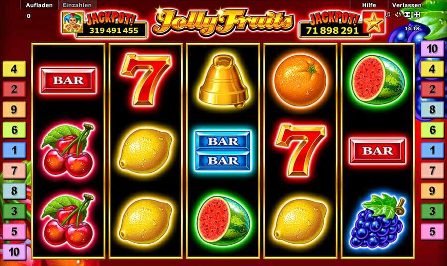 Novoline Jolly Fruits Spielautomat