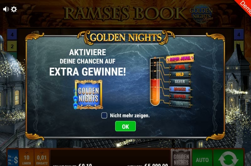 Ramses Book Golden Nights