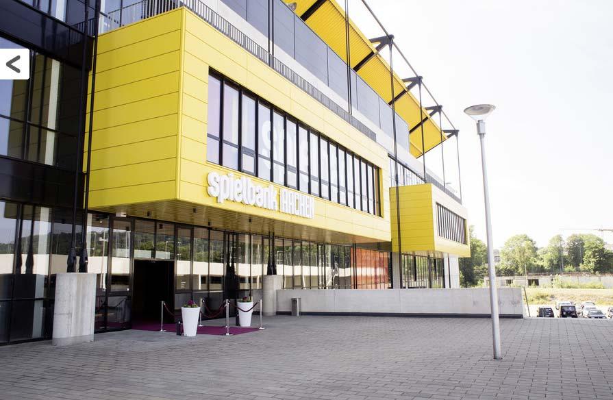 Spielbank Aachen Eingang