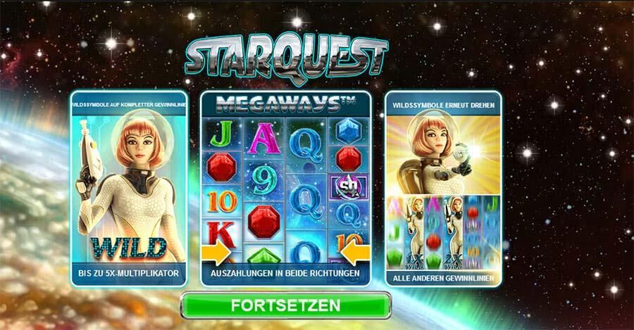 Starquest Besonderheiten