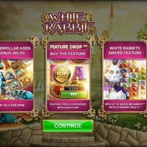 White Rabbit Bonus Vorschau