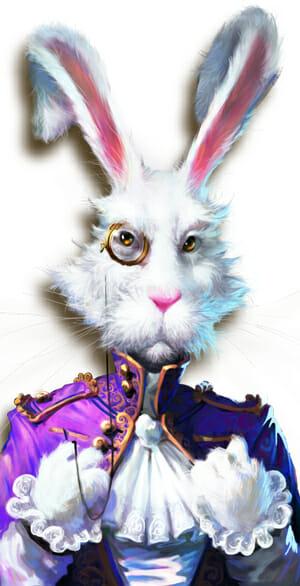 White Rabbit Hase