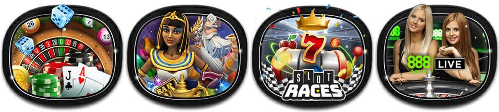 888 Casino Spiele