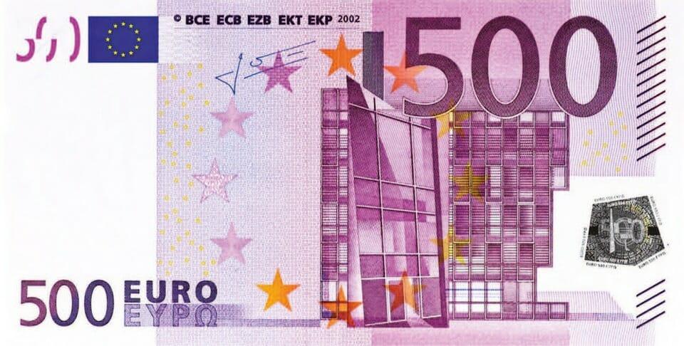 500 euro trick