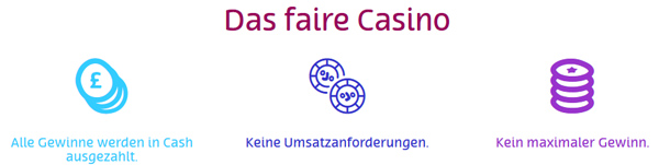 PlayOJO Casino Fair Banner
