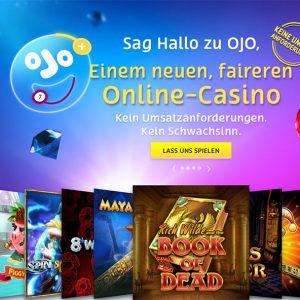 PlayOJO Casino Vorschau