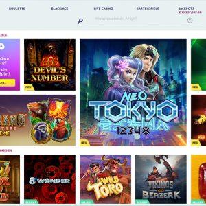 PlayOJO Casino Vorschau Spiele