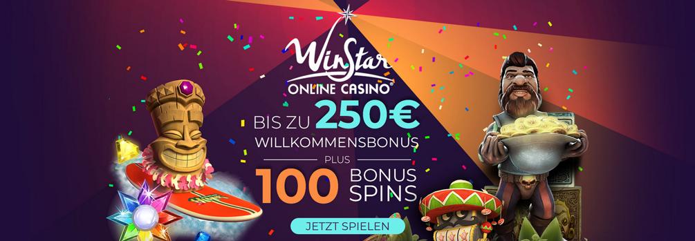 WinStar Casino Bonus Banner