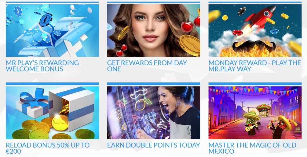 Mr Play Casino Promotions