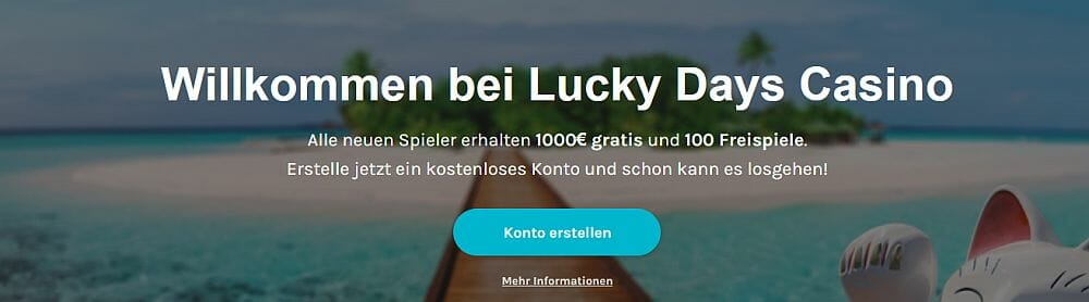 Lucky Days Angebot