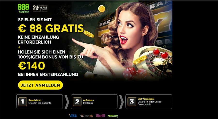 888 Casino Einzahlung Uber Telefon