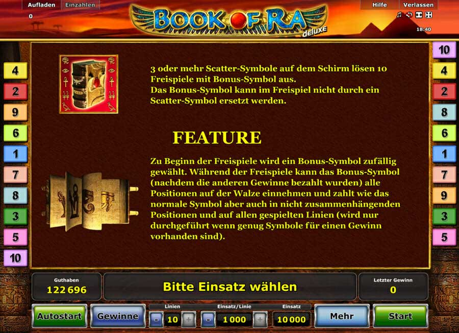 Book Of Ra Deluxe Bonus