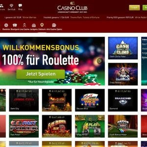 Casino Club Exklusive Spiele