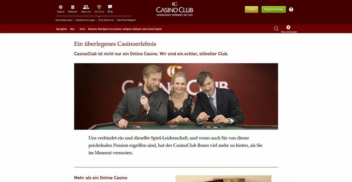 Casino Club Test