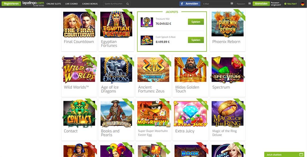 All online casinos