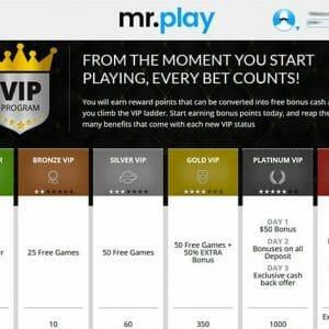 Mr Play VIP System