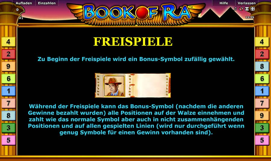 Novoline Book Of Ra Bonus