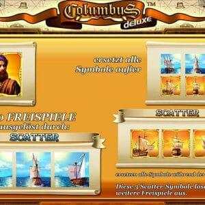 Novoline Columbus Deluxe Bonus